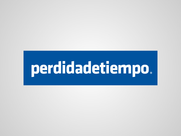 Logo de Facebook dice Perdida de Tiempo