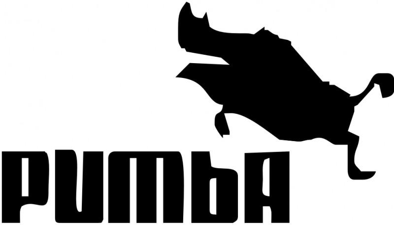 Logo de Puma dice Pumba