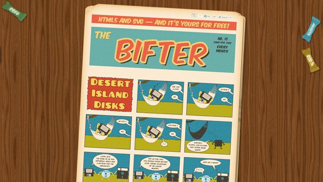 Homepage de The Bifter