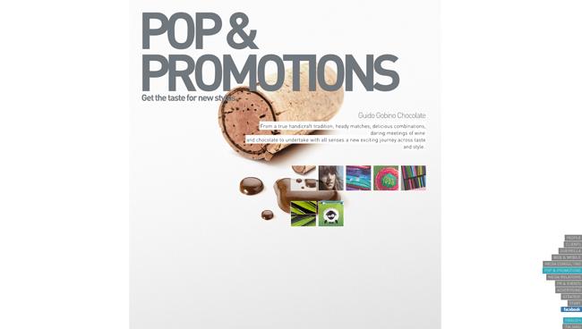 Homepage de Go up Comunicaciones