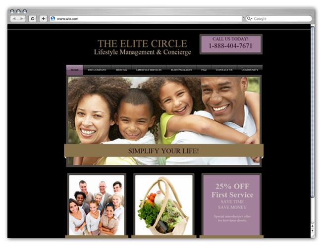 Sitio Web de Administración de Estilo de Vida