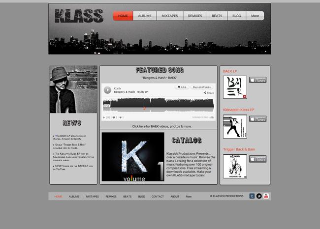 Klass SoundCloud playlist