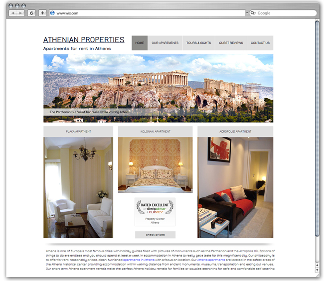 Athenian Properties | Greece