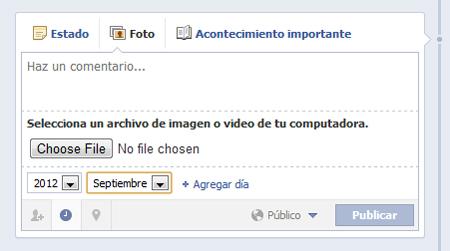 Mensajes programados en Facebook