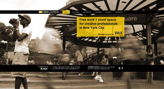 Salon de trabajo compartido Wix Lounge