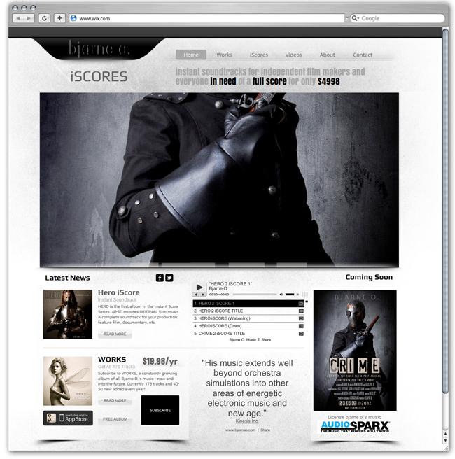 Bjarne O Diseñado por filmmusic