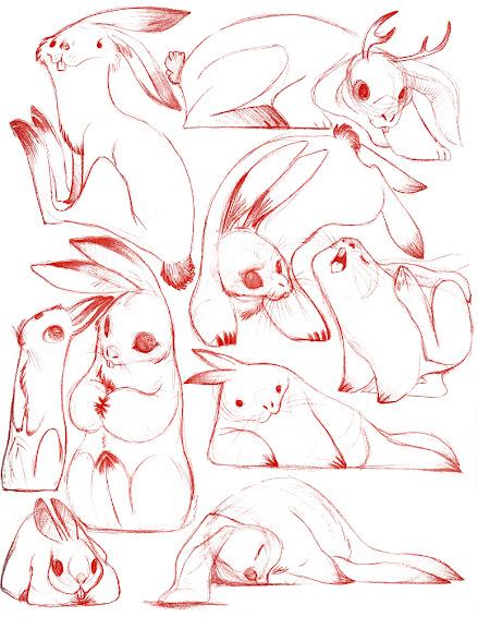 Ilustraciones de conejos