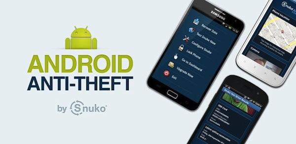 Snuko Aplicación anti-robo