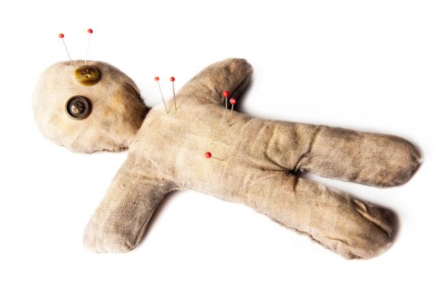 Muñeco Voodoo
