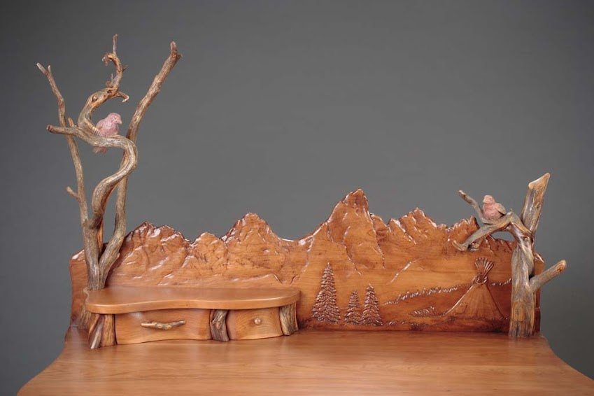 Escultura de paisaje