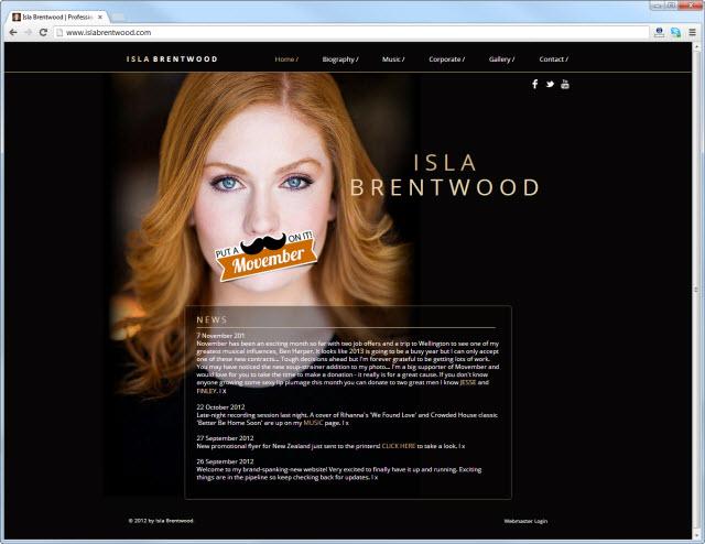 Página de inicio de islabrentwood.com