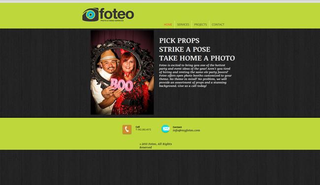 Sitio Web de Foteo