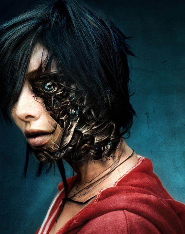 Mujer cyborg