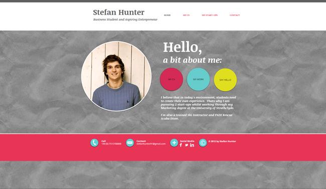 Sitio Web de Stefan Hunter
