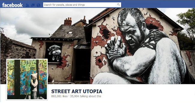 Foto de Portada de Street Art Utopia