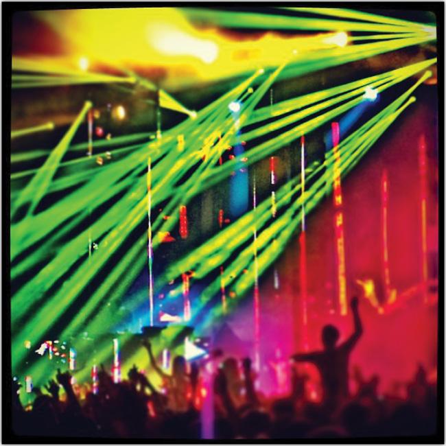 Club Nocturno de fiesta