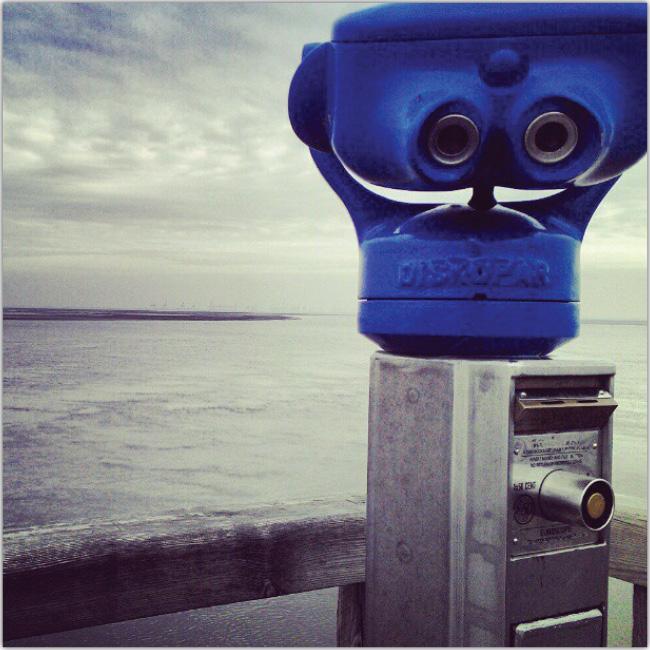 El mar y un telescopio