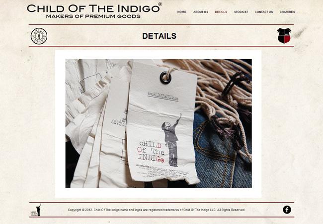 Sitio Web de Child of the Indigo