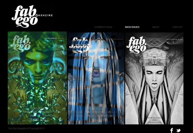 Sitio Web de la Revista Fabego Magazine
