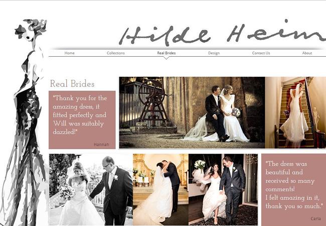 Sitio de Hilde Heim