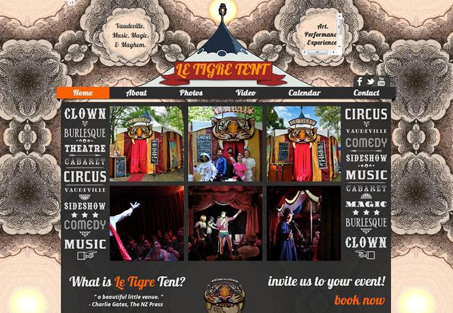 Le Tigre Tent