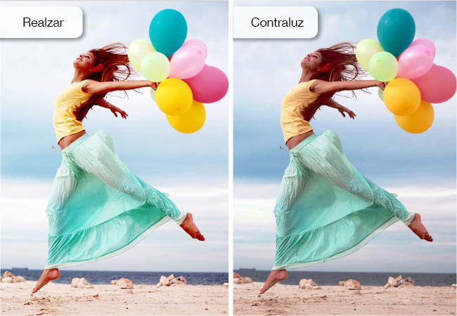 Mejora de las imágenes a través del editor