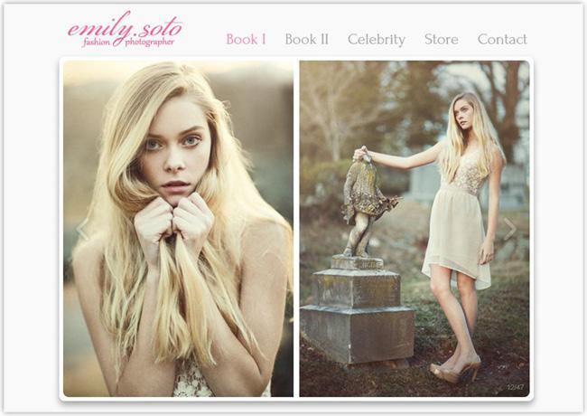 Emily Soto – Portfolio de fotografía creado con Wix