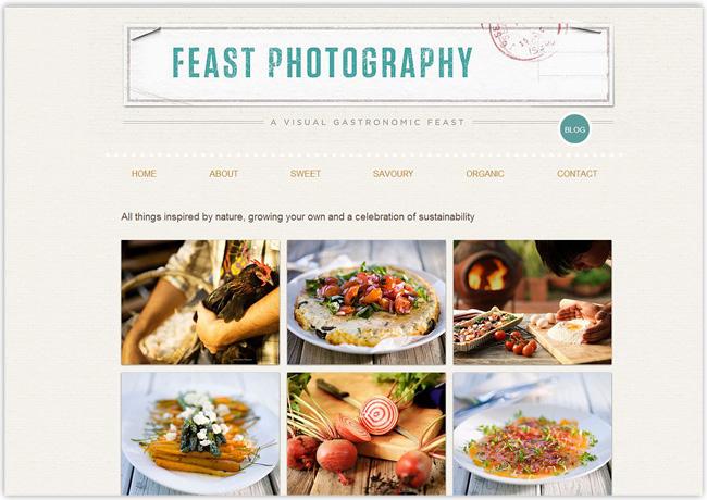 Feast Photography – Portfolio de Fotografía creado con Wix