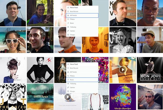Muchas fotos de gente