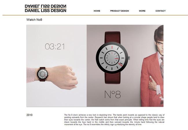 Sitio Web de Daniel Liss Design
