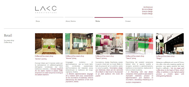 Sitio web de Lakc