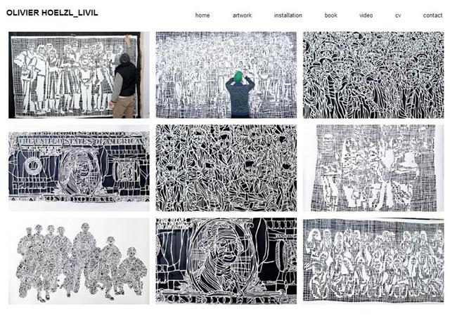 Sitio web de Olivier Hoelzl Livil