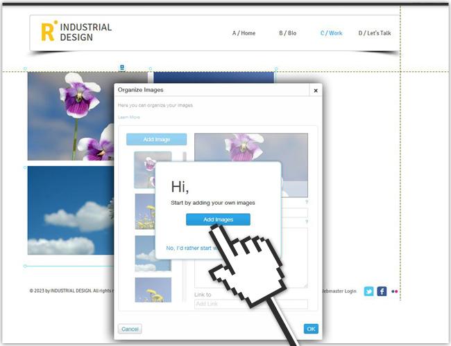 Haz clic en Organizar imágenes