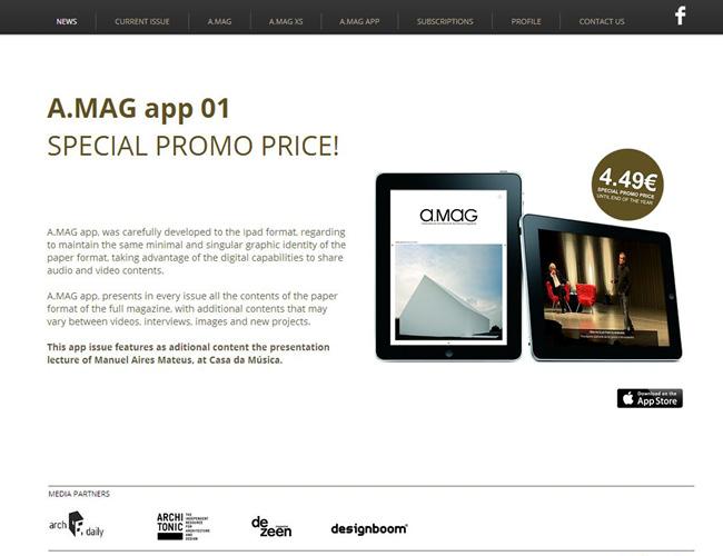 Pantallazo de un sitio web donde aparece una imagen de dos tablets