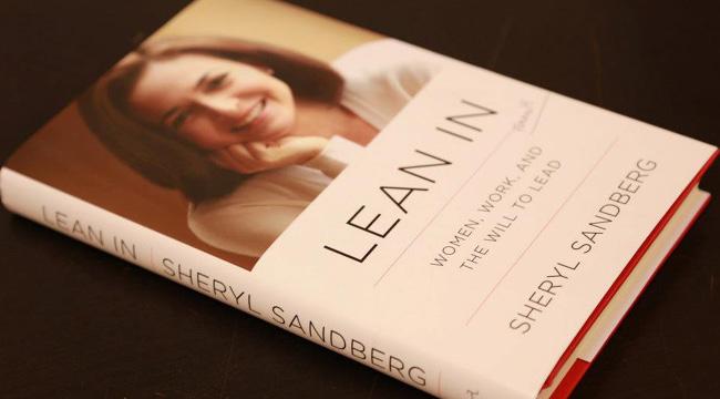 Portada de libro Lean In de Sheryl Sandberg