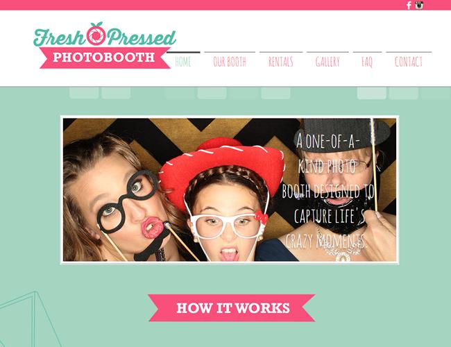 Fresh Pressed Photobooth