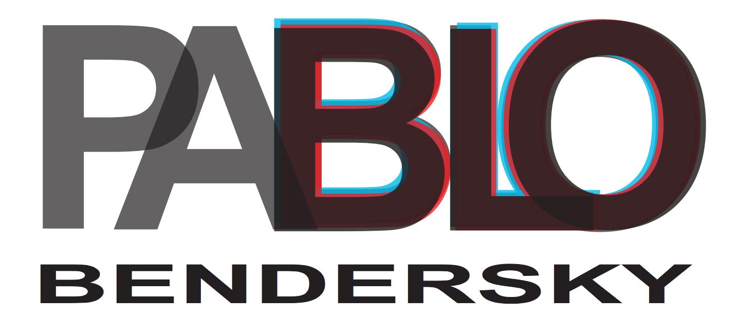 Logo del DJ Pablo Bendersky