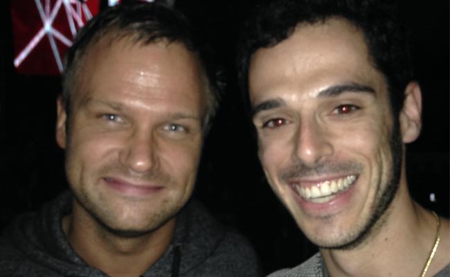 Pablo Bendersky con el reconocido DJ Dash Berlin