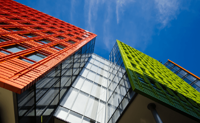 Diseño arquitectónico moderno