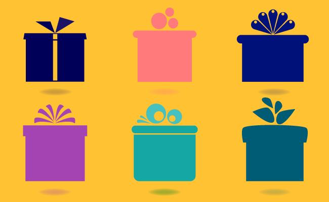 Muchos Paquetes de Colores