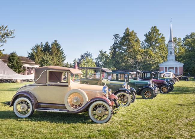 Antiguos autos Ford
