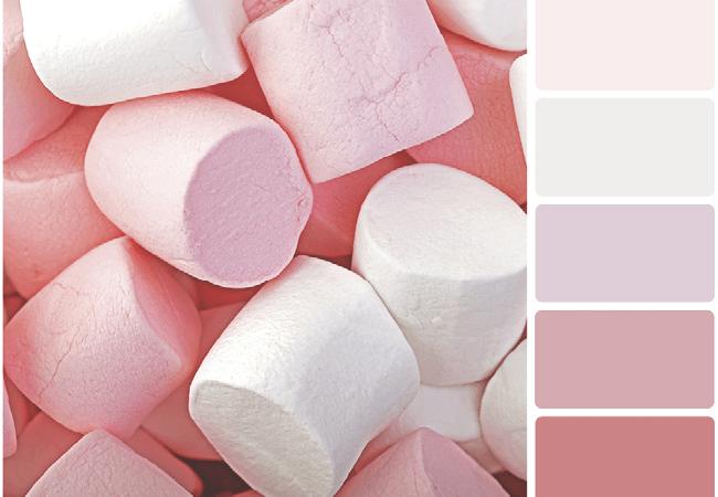 Tonos de color rosa