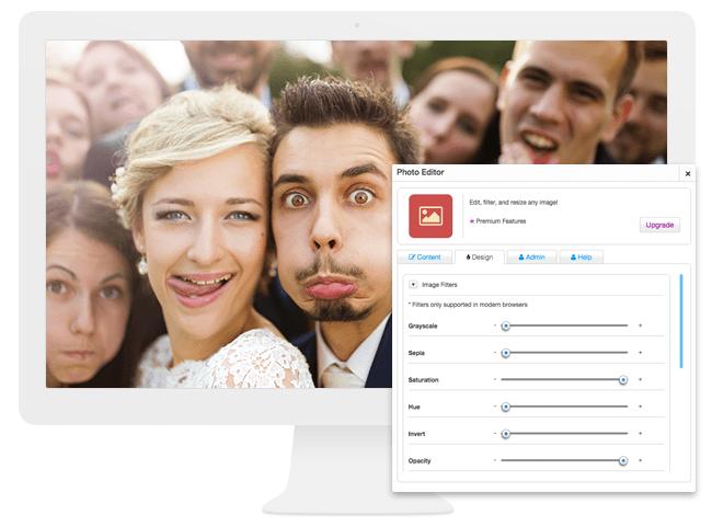 La Photo Editor App para Usuarios de Wix