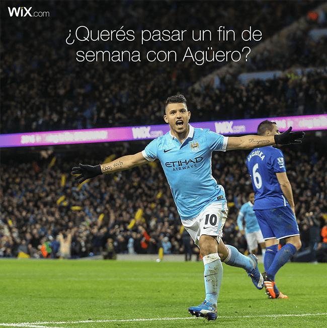 ¡Gana Un Fin De Semana Épico con el Kun Aguero y Manchester City FC!