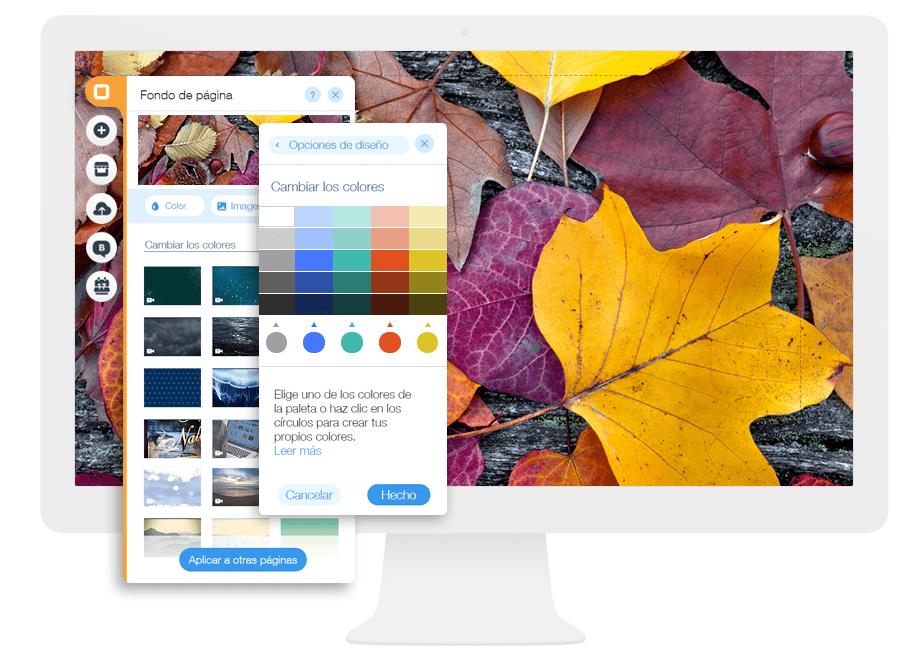 Personaliza los Colores de tu Sitio