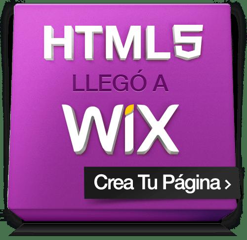 Banner El HTML5 llegó a WIX