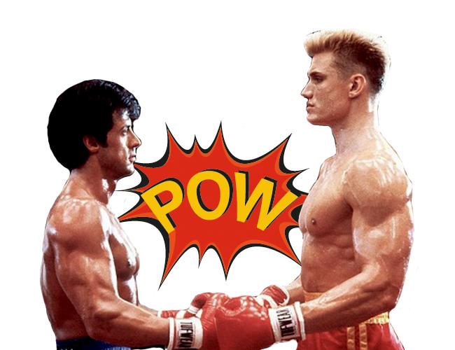 Rocky e Iván Drago