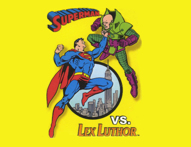 Superman y Lex Luthor