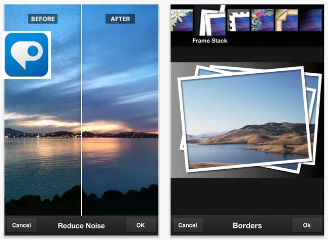 Aplicación de Photoshop para teléfonos