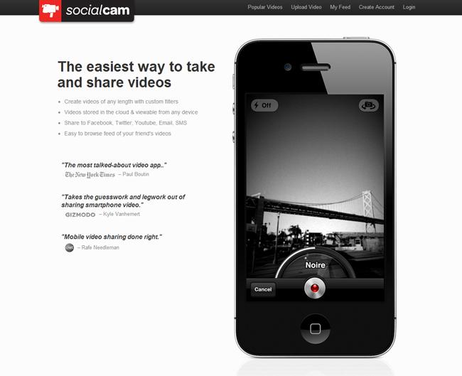 Aplicación Social Cam